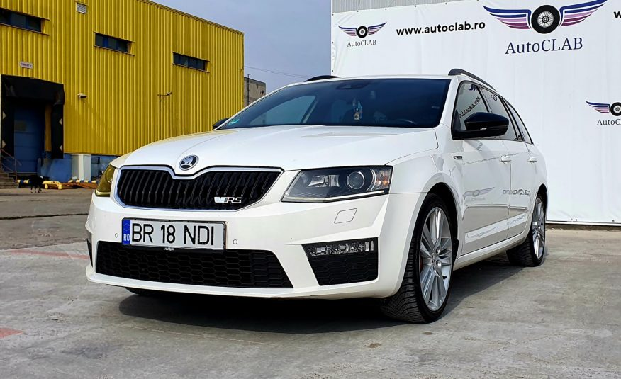 Skoda Octavia VRS 2013, 2.0 Diesel, 184 cp, Pret – 10.000 Euro